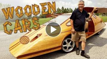 Wooden Cars | Man Creates Tree-mendous Motors
