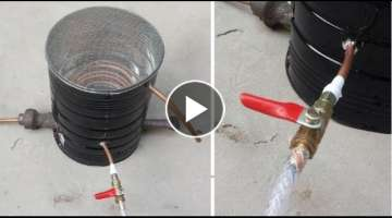 How to Make an Instant WATER HEATER / GEYSER at Home under 10$