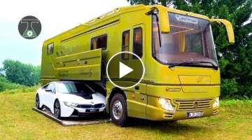 6 Luxury Motor Homes You Need to See