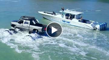 Monstermax Drives in the Ocean (Police, Coast Guard, EPA, DNR Called)