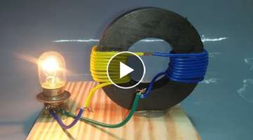 Free Energy Generator Magnet Coil 100% Real New Technology New Idea Project