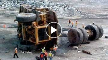10 World Dangerous Idiots Dump Truck Operator Skill - Biggest Heavy Equipment Machines Working