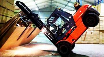 Ultimate Forklift Fail Compilation