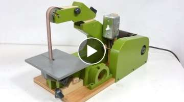 Building the 1'x42' belt sander
