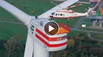 Enercon E126 - The Most Powerful Wind Turbine in The World