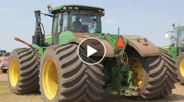 Modern Massive Agricultural Tractors, Harvesters, Rich Farmers. | Expensive Machines of Germany.