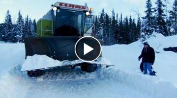 The Snowbine Harvester Top Gear | BBC