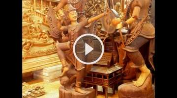 Teak Wood Carving