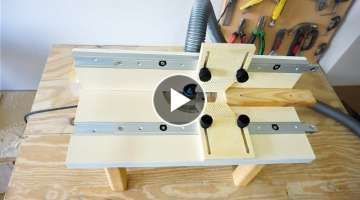 Building a Benchtop Router Table