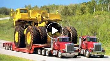 10 Extreme Dangerous Oversize and Heavy Transportation Mega Machines ¦¦ You Need To See