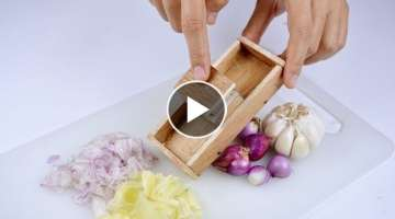 How to Make Mini Onion Slicer, You Can Make At Home