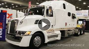 2020 Western Star 5700XE Extended Sleeper Fedex Semi Truck with Kitchen