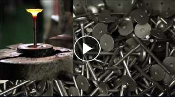 How it's made Engine Valves – Amazing technology