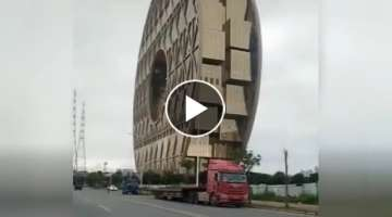 Dangerous Idiots overload Trucks Operator at Works, Truck Driving Fails