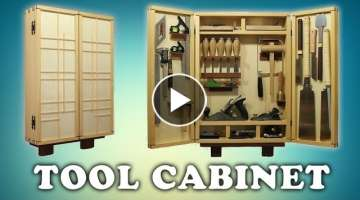 Building a Woodworking Tool Cabinet
