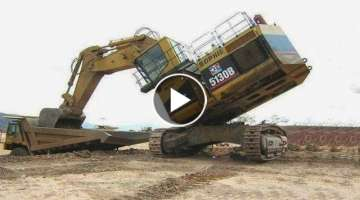 Extremely Dangeorou Idiots Heavy Equipment Construction Machines Fails | Biggest Excavator at Wor...