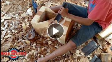 Making A Twisted Stool