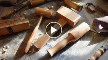 Making 3 Types of Mallets for Woodworking