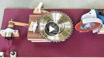 How to Make an Automatic Saw blade Sharpening machine at Home