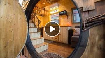 The Hobbit House - A Tiny House Beauty