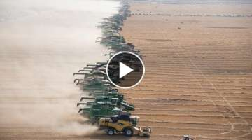 Combines set new world record