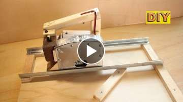 DIY: Adjustable Circular Saw with Cutting Station