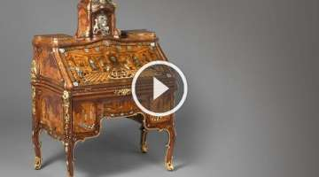 Abraham Roentgen's Writing Desk
