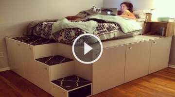 IKEA Hack Platform Bed DIY
