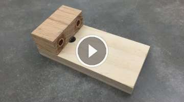 Make a Simple Doweling Jig
