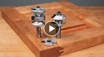 Infinity Cutting Tools - Interior & Exterior Door Making Router Bit Sets