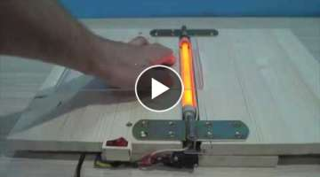 DIY Acrylic Bending Machine