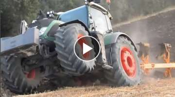 The World's Best Fendt Tractors in action