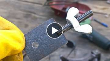 AMAZING HOMEMADE TOOL FOR WELDING