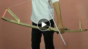 How To Make A Cardboard Bow & Arrow