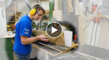 Cutting Small Logs into Lumber with only the Bandsaw