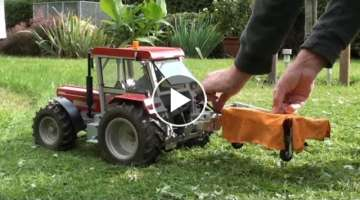 The Smallest Lawn Mower Tractor!!!