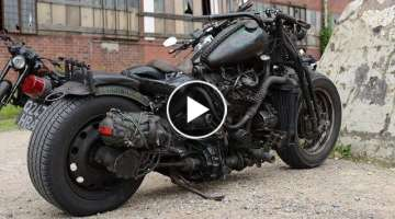 Big Turbo Motorcycles with Diesel Engines You have NEVER seen !!!