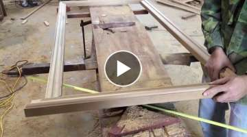 Amazing Woodworking Perfect - How To Make A Wooden Picture Frames Extremely Beautiful, DIY