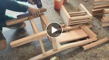 Building Dining Chair Fastest And Most Beautiful