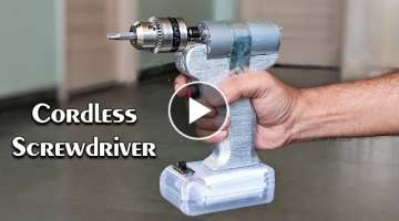 How to Make a Cordless Screwdriver at Home