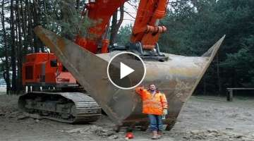 Massive Earth Moving Machines!!...That Wonderful Engineering Equipment Excavator Big V Ditch Ripp...