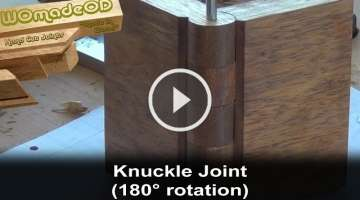 Make a Knuckle Joint in Wood