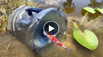 MEGA FISH TRAP Catches Rare Colorful Fish